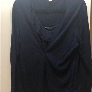 Navy blue sweater set